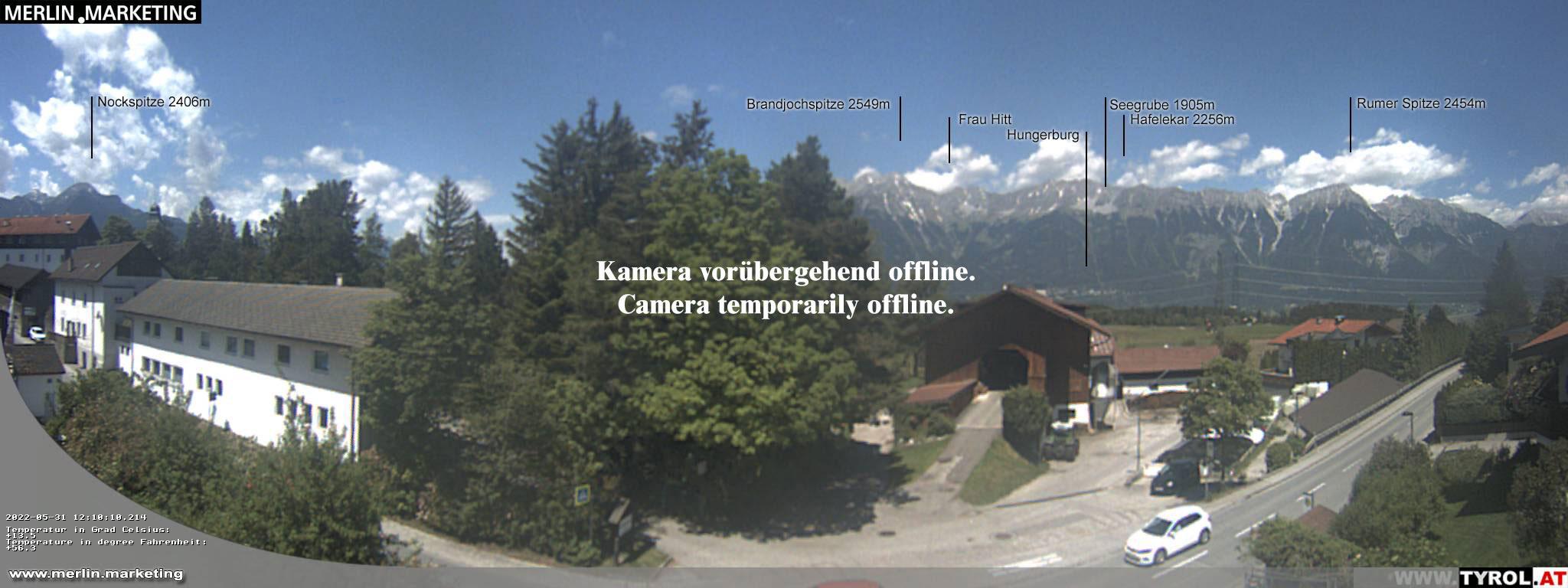 Webcam Lans bei Innsbruck / Nordkette - Tirol, Österreich